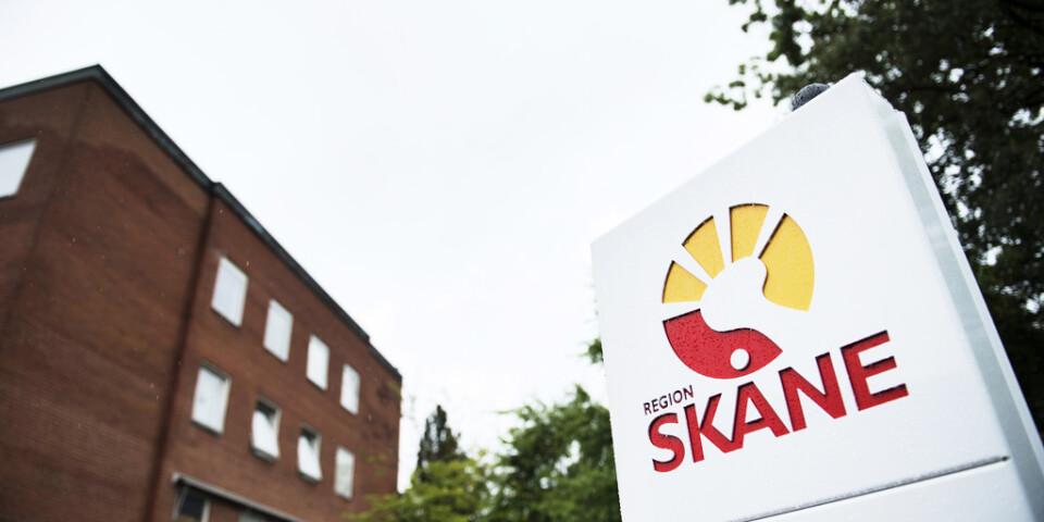 Region Skåne drabbades av en omfattande störning i sitt it-system. Arkivbild.