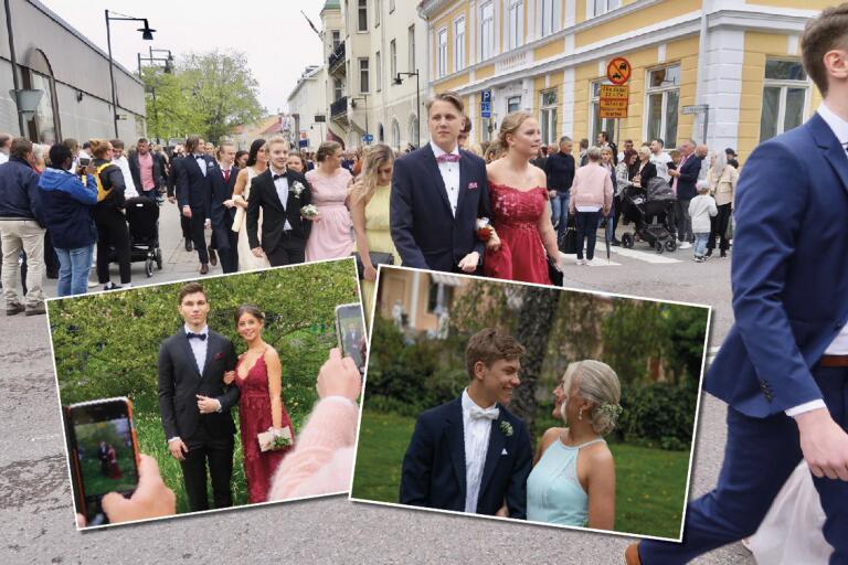 Redo att möta framtiden – se bilder från balen i Oskarshamn