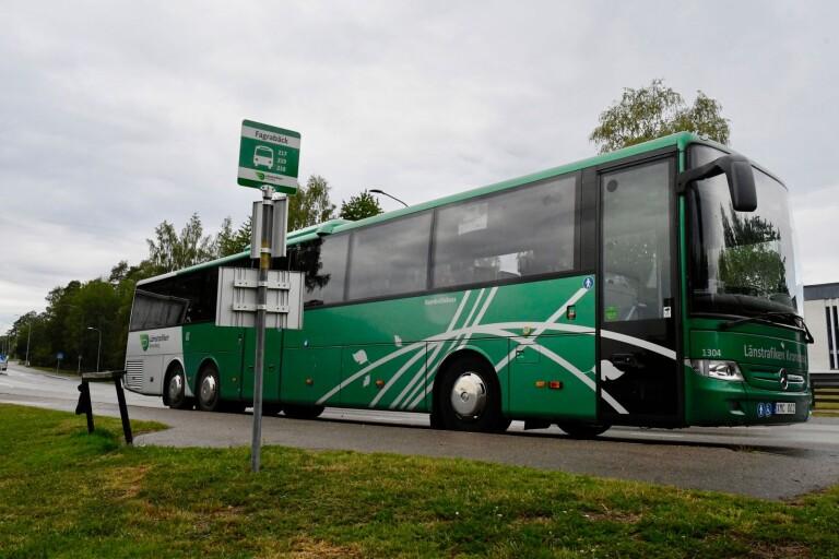 Länstrafiken ينقل قارئ التذاكر في الحافلات