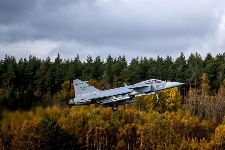 Försvarsmakten är oroliga för att garagebygget vid fritidshuset i Saxemara kan försvåra flygflottiljens övningar i framtiden. Man tror att bygget kan ha prejudicerande effekt.