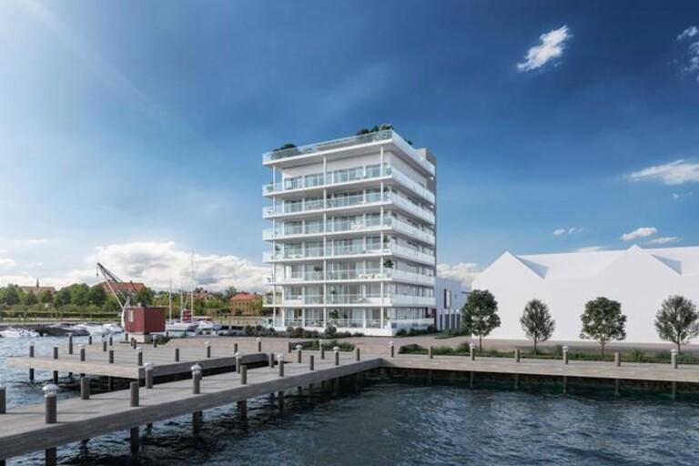 Stort intresse för exklusiva bostäder i hamnen
