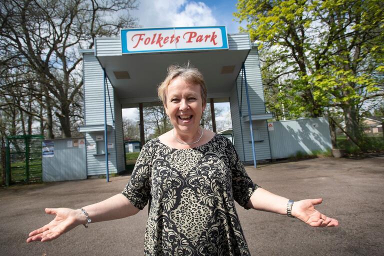Åseda Folkets Park blir scen för Smålandsoperan i år igen. Till sommaren 2019 hoppas Christina Gutierrez Malmbom, styrelseordförande och producent för Smålandsoperan på många besökare.