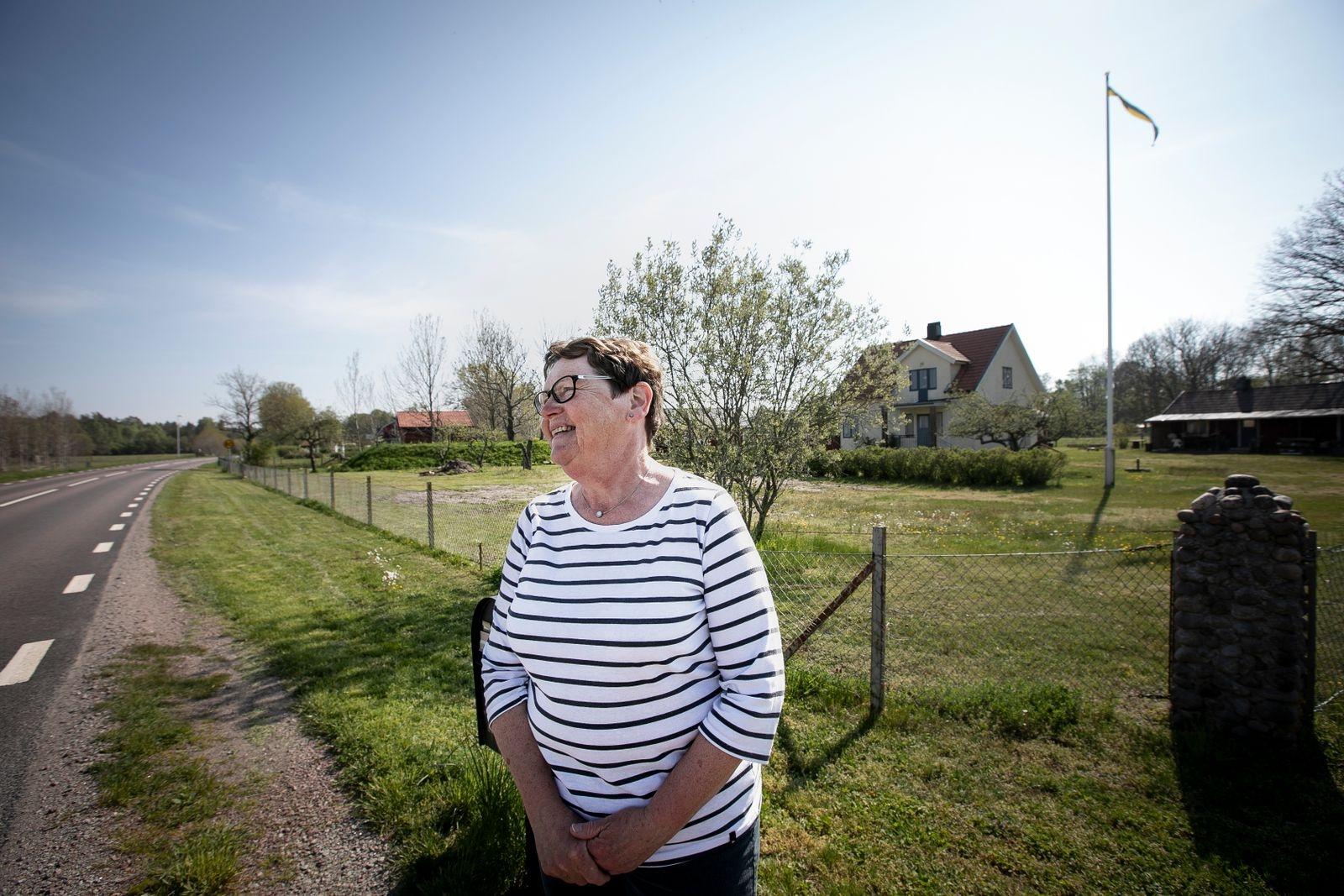 – Jag tror att det är många som säger nej och tycker att det fungerar som det är, säger pensionerade förskolläraren Else-Marie Adolfsson, som bor utanför Byxelkrok.