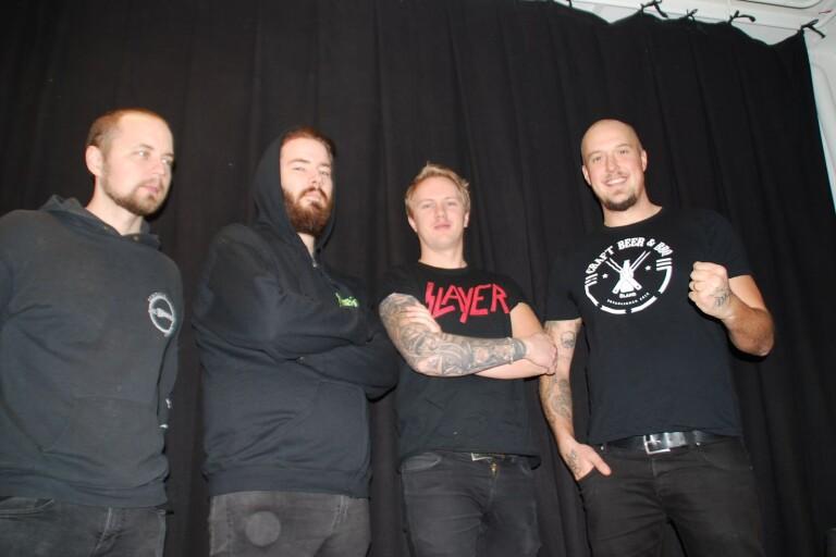 """Öländskt metalband gör debut –""""Det är en barndomsdröm"""""""