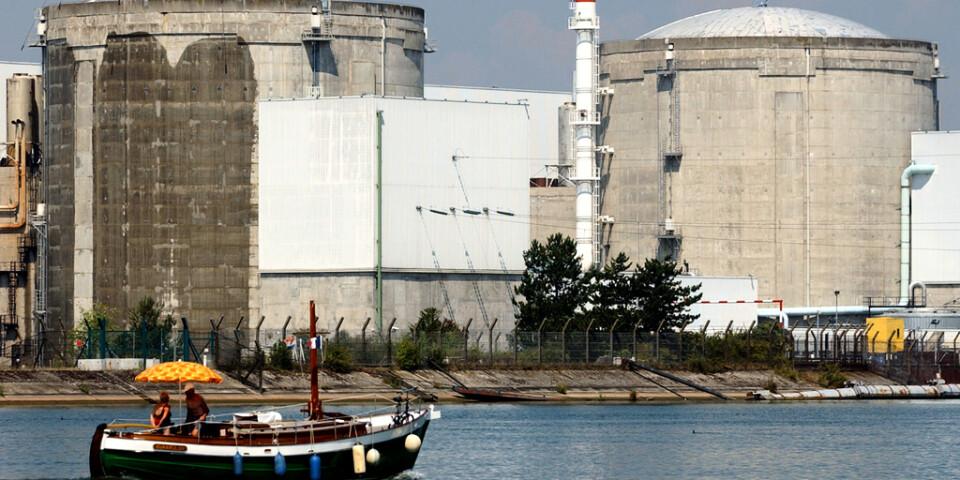 Två reaktorer i Fessenheim i östra Frankrike är på väg att stängas i år. Arkivbild