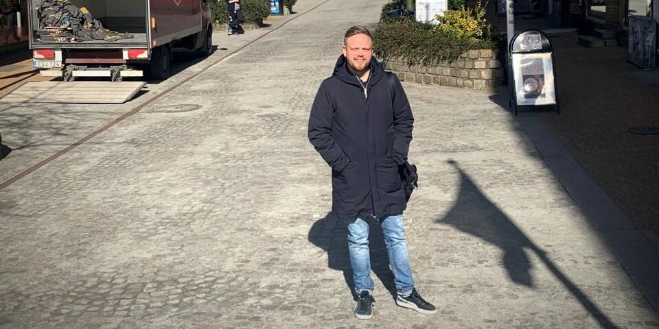 Cityledare Johan Jönsson hoppas på åtgärder från kommunen och en stöttande lokalbefolkning för att hjälpa handeln genom coronakrisen.