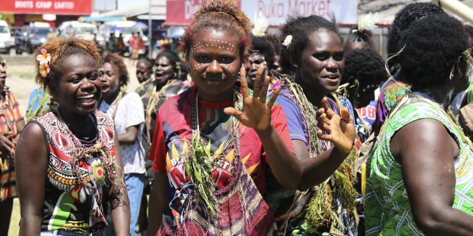 Under två veckor röstade invånarna i Bougainville om ökad autonomi eller fullständig självständighet från Papua Nya Guinea. Arkivbild.