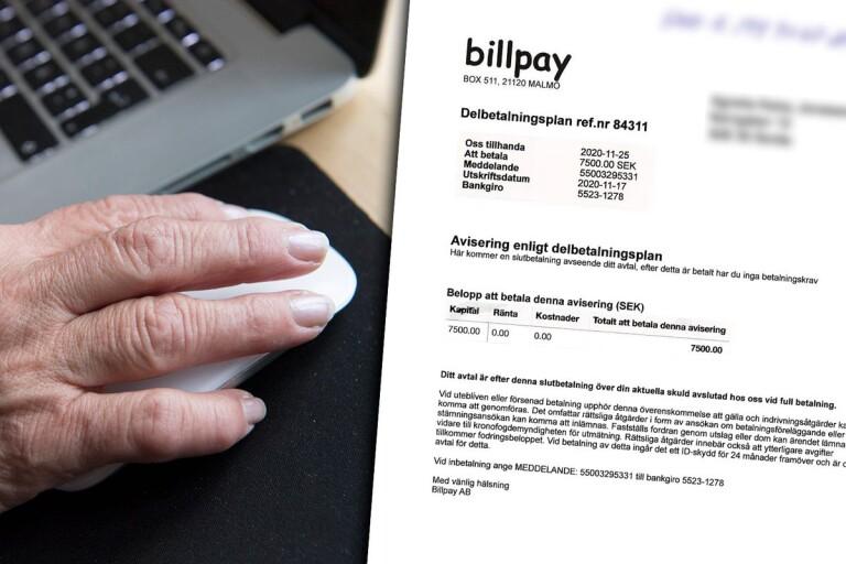 """Blufföretag skickar ut falska fakturor – boråsare varnar: """"Blev arg"""""""