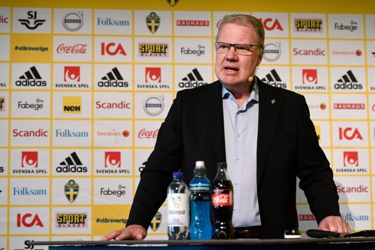Karl-Erik Nilsson, ordförande för Svenska Fotbollförbundet.