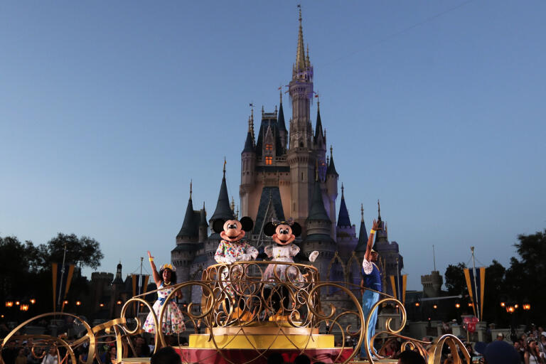 Disney World i Florida har varit stängt under coronaepidemin. Arkivbild.