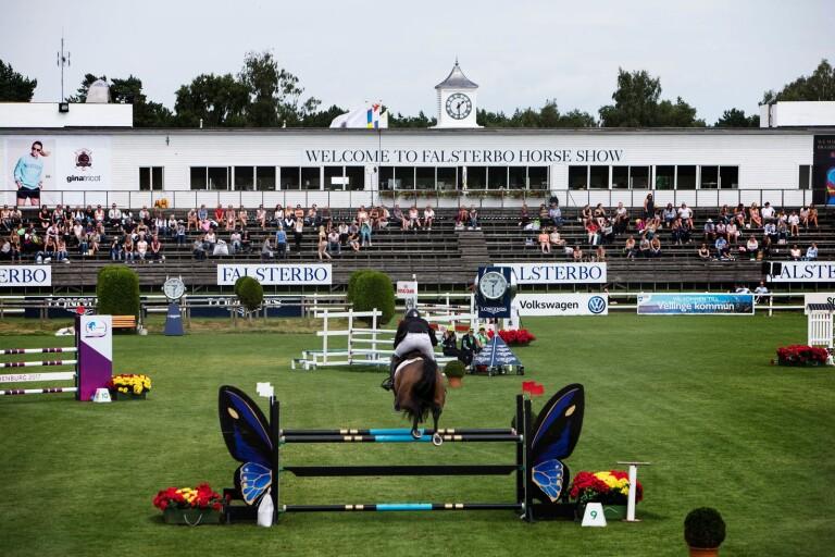 Hästhoppning: Sydslättenryttare i final i Falsterbo