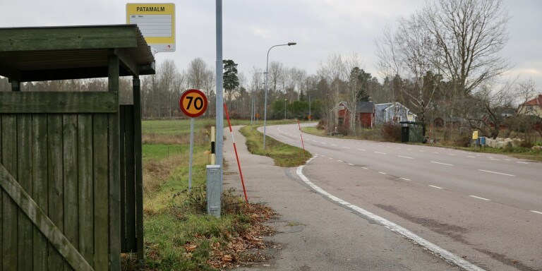 """Vrede över farthöjning på vägsnutt i Patamalm: """"Borde få sparken"""""""