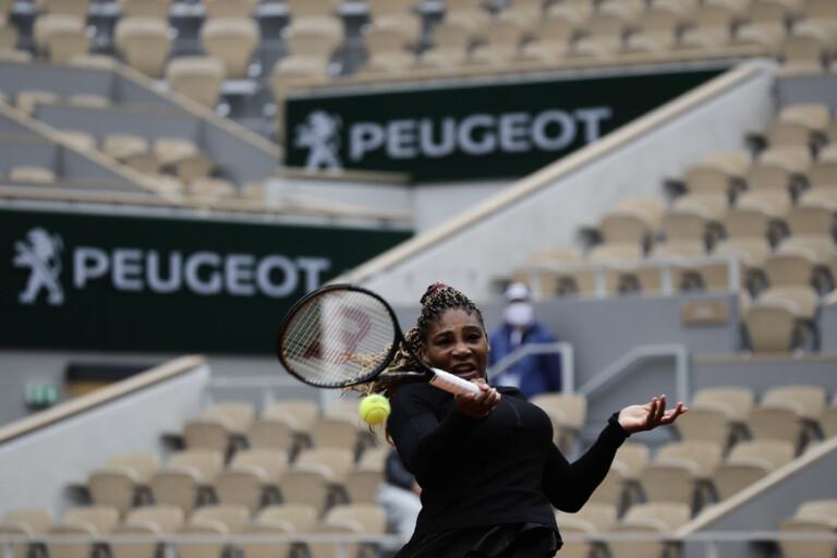 Williams och Nadal båda vidare i Paris