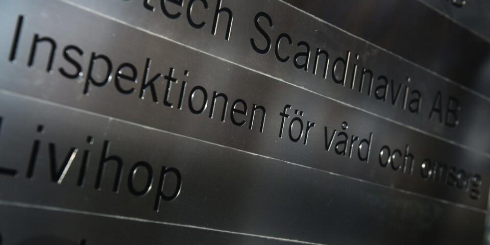 Inspektionen för vård och omsorg (Ivo) kritiserar omsorgsnämnden i Örnsköldsviks kommun. Arkivbild.
