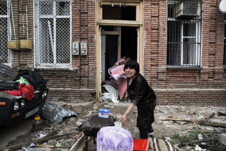 Kaukasiskt kaos kvar trots skört eldupphör