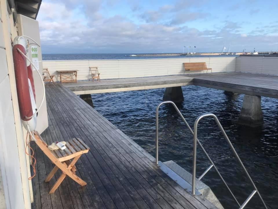 Weronica Silfverling rapporterade in 13 grader från Kallbadhuset i Borgholm måndagen den 14 september.