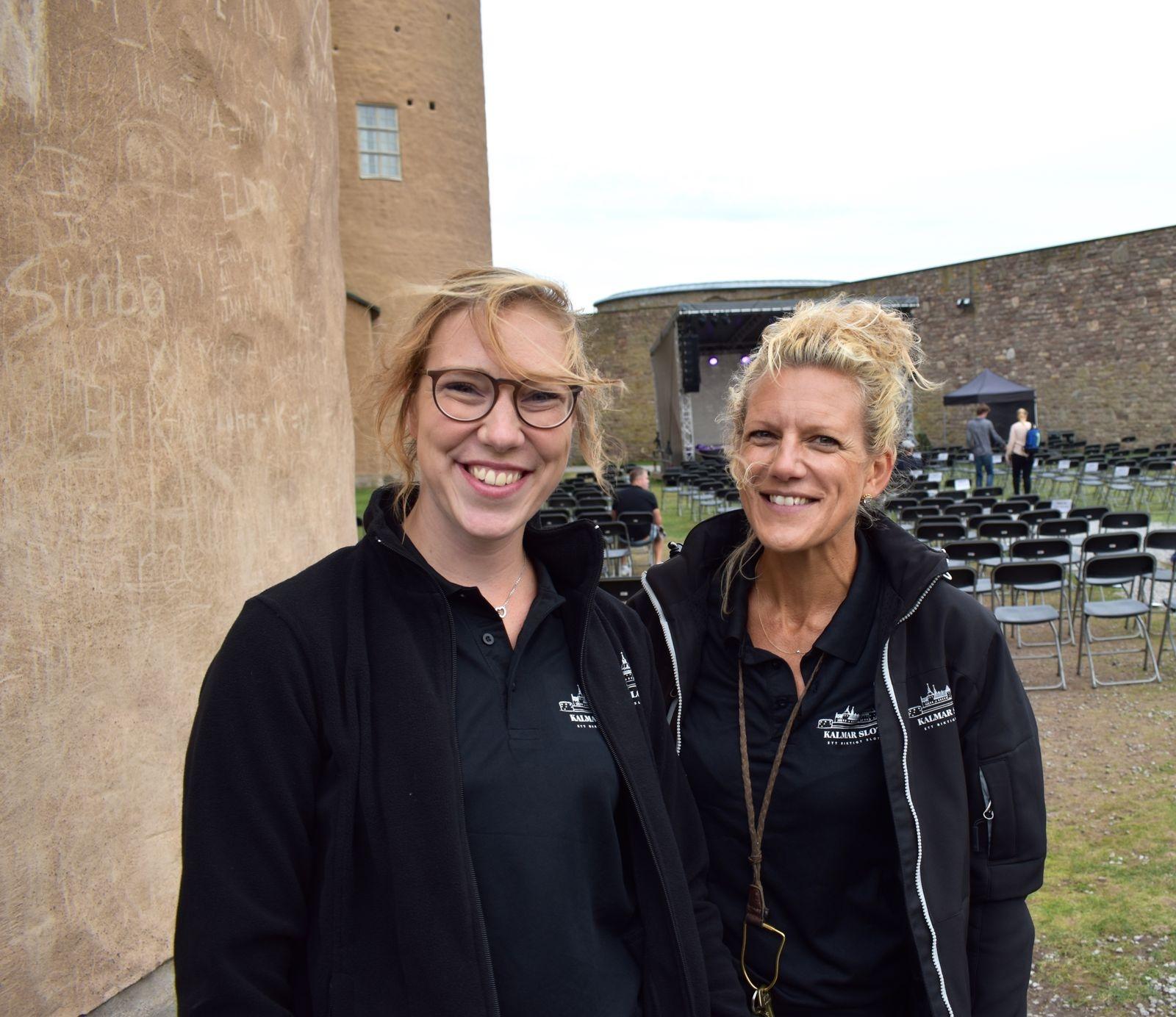 Ida Qvarnström och Therese Börjesson.