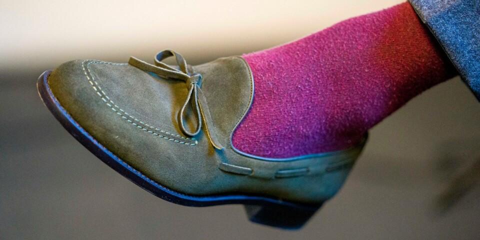 Gärna loafers och gärna färg.