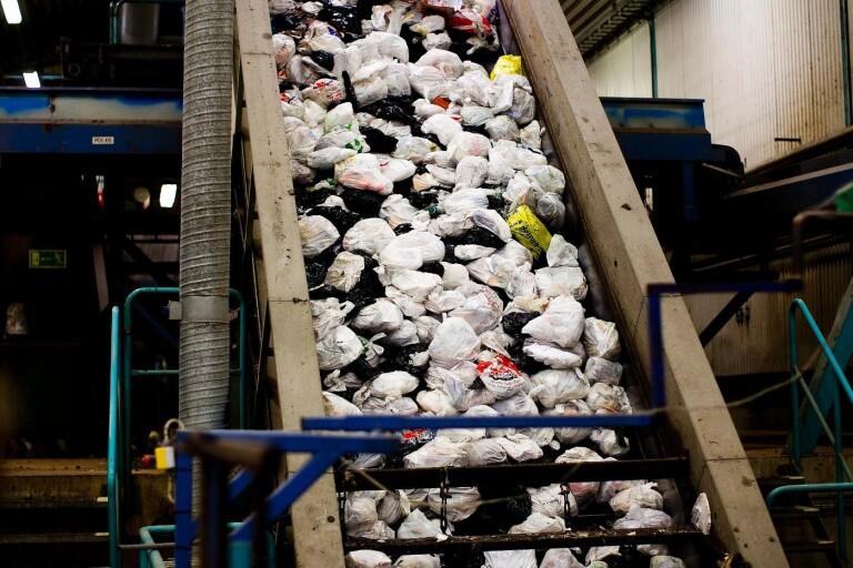 Boråsarna bra på att sortera sopor
