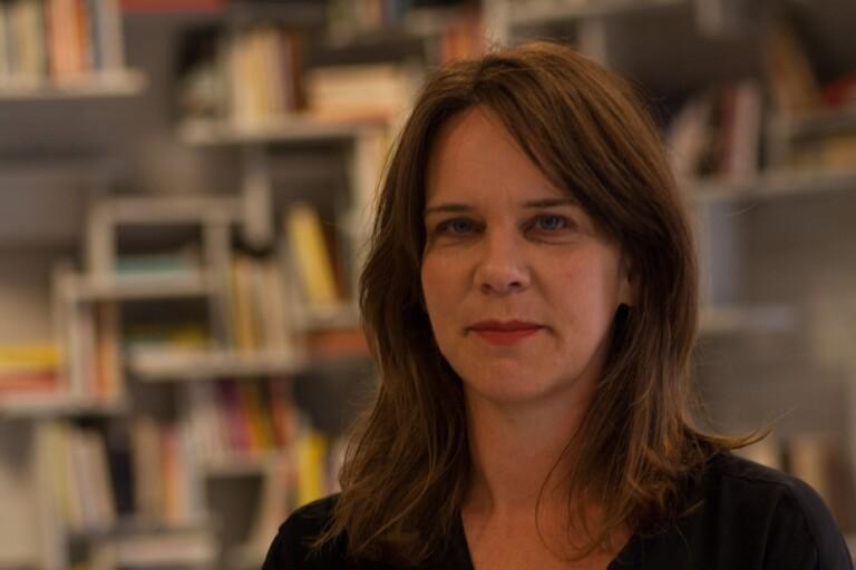 Sofia Gräsberg från Göteborgs Litteraturhus diskuterar Göteborg som litteraturstad.