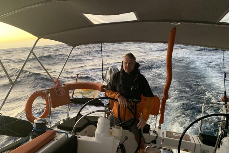 Mats från Kalmar seglade över Atlanten