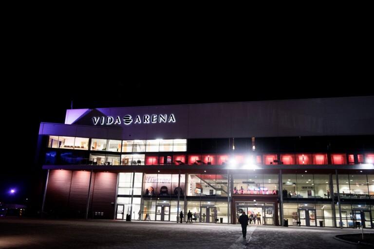 Signaturen Arenabesökare tycker att det borde byggas en tågperrong närmare arenorna i Växjö.