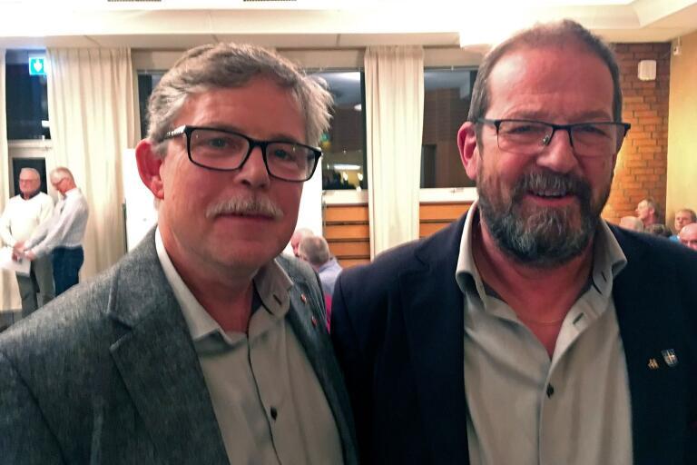 Mats Palm (S) och Gunnar Andersson (M).