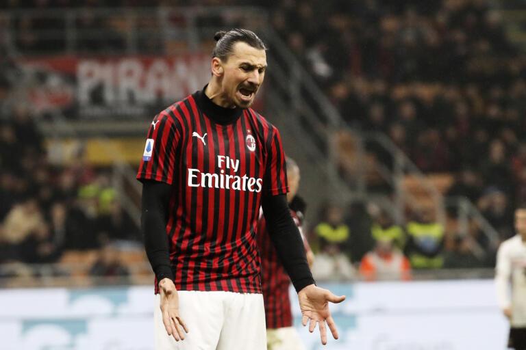 Zlatan Ibrahimovics Milan kan ha spelat sin sista ligamatch den här Serie A-säsongen. Arkivbild.