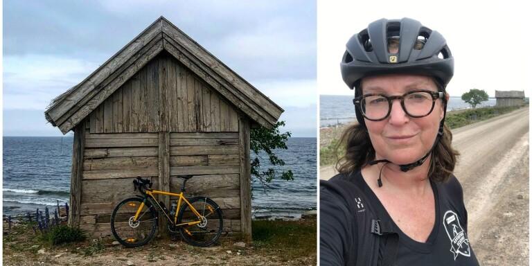 """Helena cyklar från Stockholm till Långe Erik: """"Ser fram emot allt"""""""