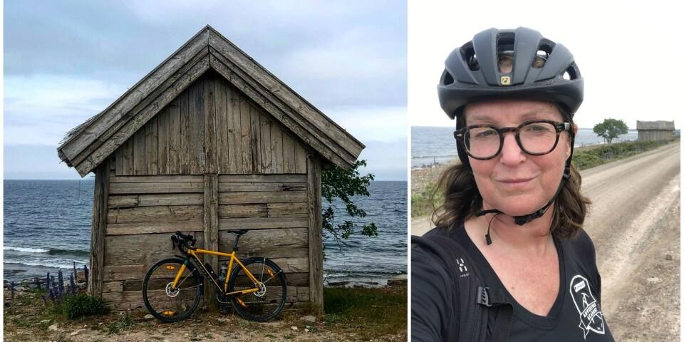 Helena Löfgren på Öland.