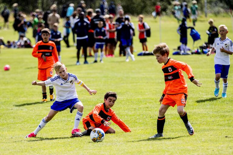Gothia Cup, den internationella ungdomsturneringen i fotboll, är en av många sommarevenemang som inte kan genomföras på grund av coronapandemin. Arkivbild.