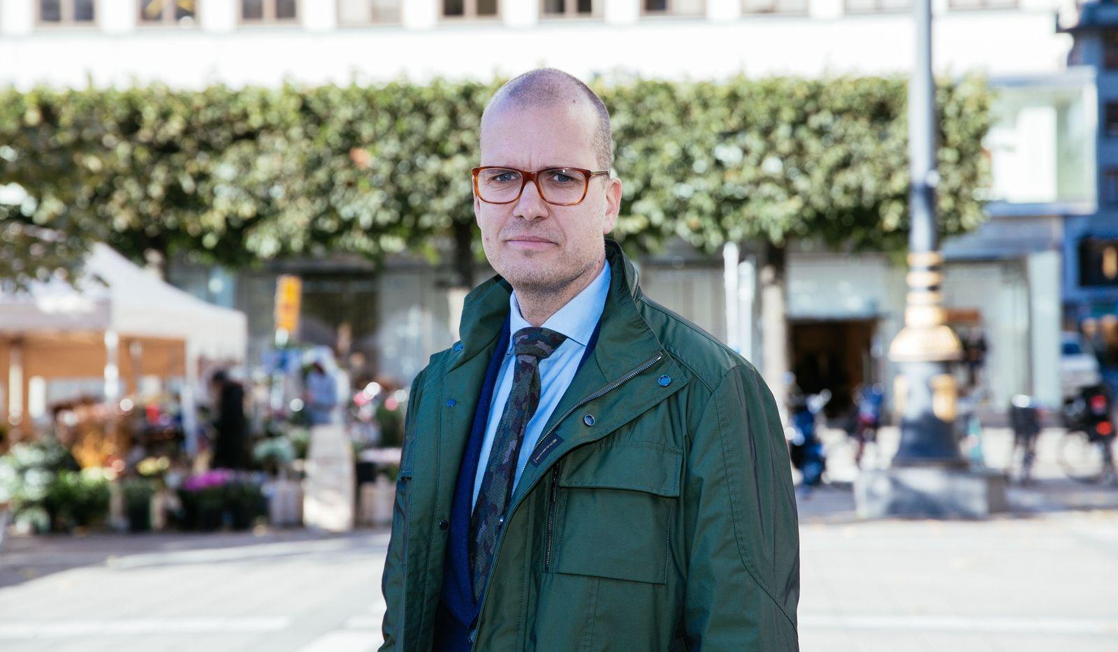 Joakim Bornold, sparekonom på finansrådgivningsföretaget Söderberg & Partners
