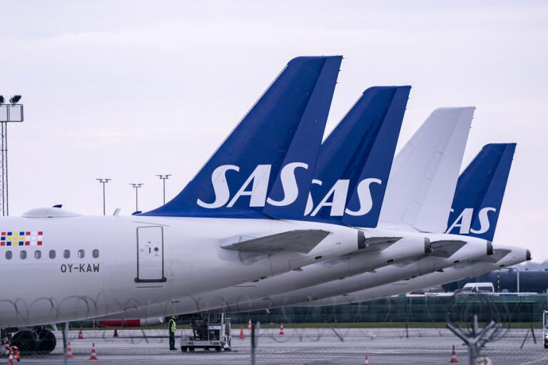 Omkring 50 kunder har vänt sig till Kronofogden för att få ersättning från SAS. Arkivbild.