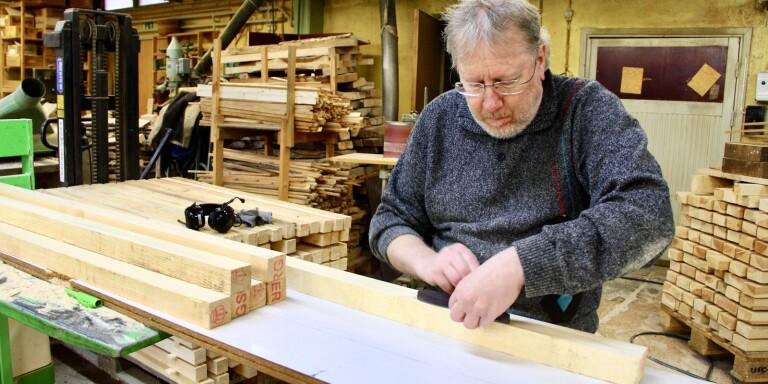 I Gullabo tillverkas fortfarande hela Sveriges smörkniv