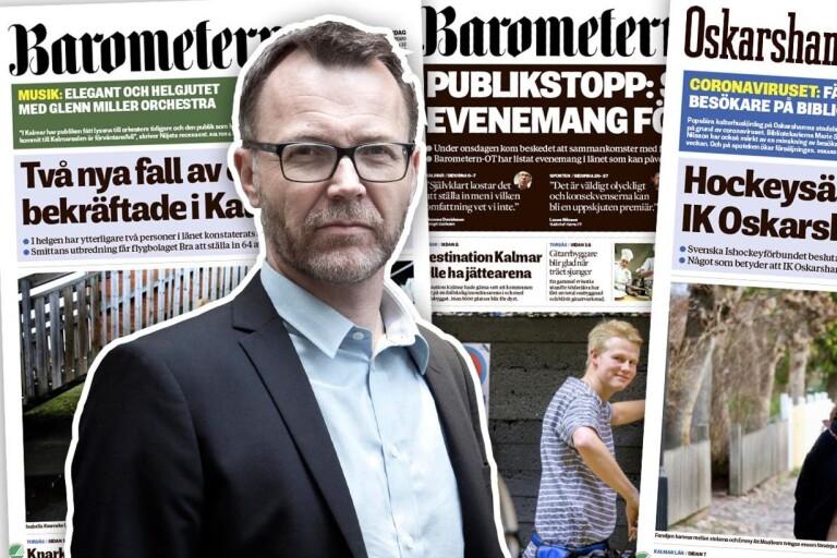 """Enström: """"I en annorlunda tid blir tidningen annorlunda"""""""