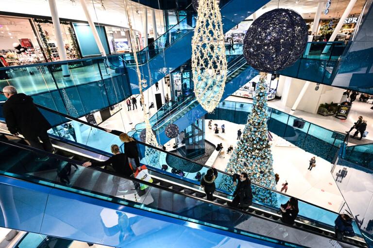 Full fart på julhandeln trots restriktionerna