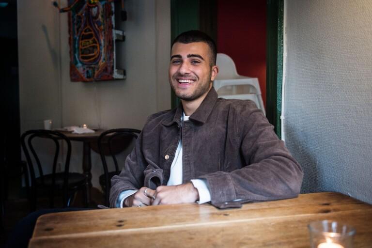 Edvin Hakimzadeh, 19 år, hoppas på ett wild card till finalen.