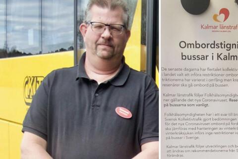 """Busschaufförer kritiserar KLT: """"Tar det inte på allvar"""""""