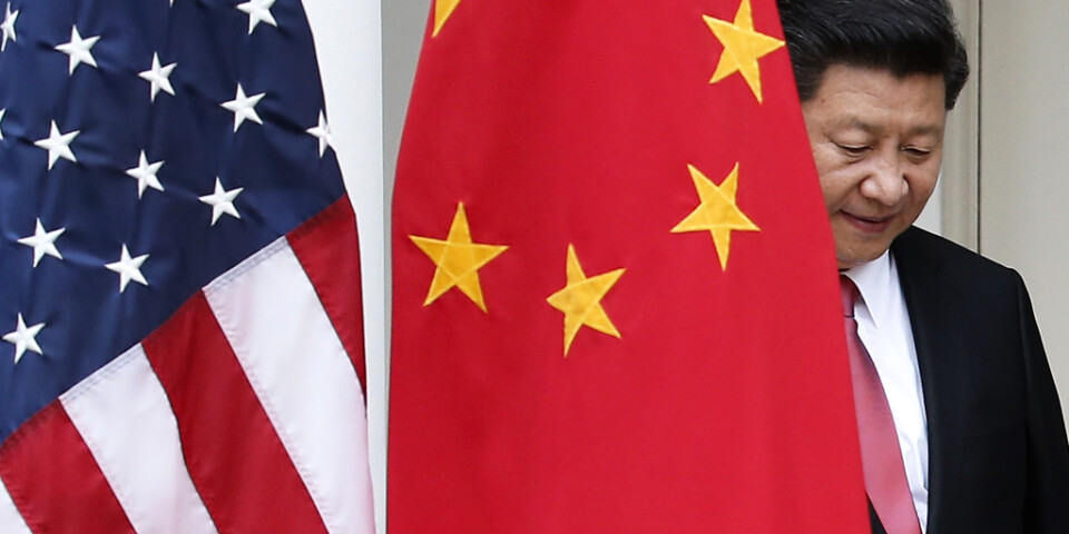 Relationerna mellan USA och Kina har försämrats ytterligare under coronapandemin. Arkivbild.