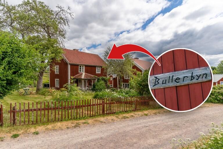 Superstort intresse för huset i Bullerbyn – mest klickat i landet