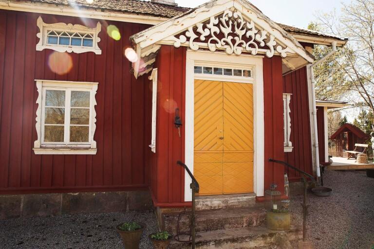 Dörrar som husets blickfång