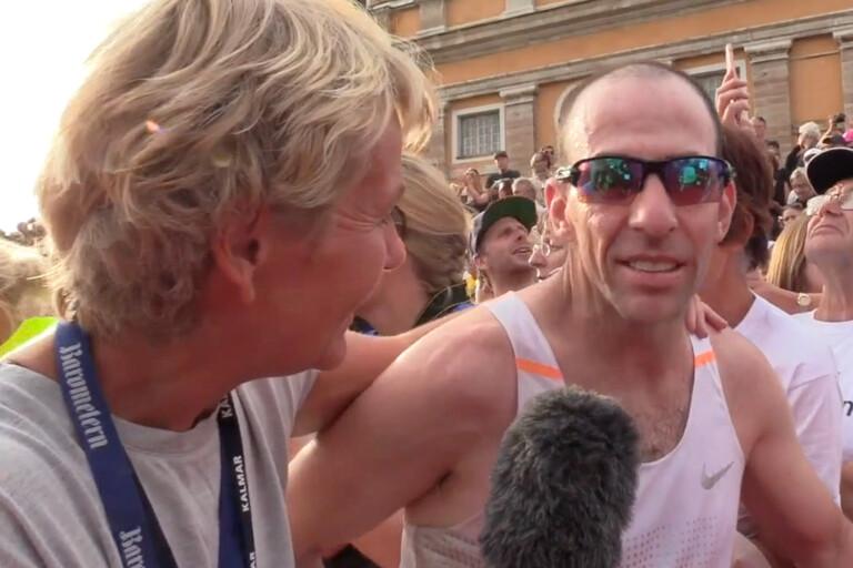 TV: Blind man genomförde Ironman –slog världsrekord