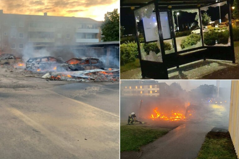 19-åring åtalas för grov mordbrand i Färjestaden