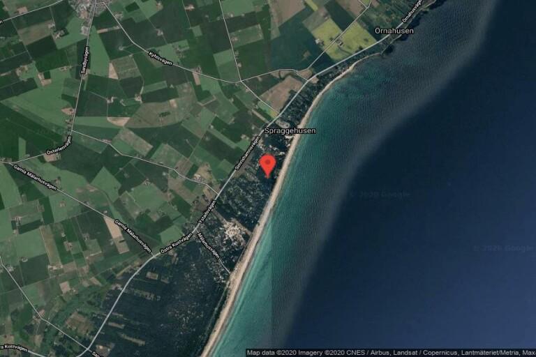 Fastigheten på Sandby Strandväg 9B i Borrby har fått nya ägare
