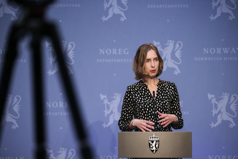 Norges näringsminister Iselin Nybø. Arkivbild.