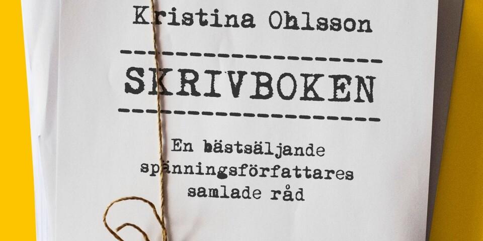 """""""Skrivboken"""" gavs ut under senhösten, och var en av tre Kristina Ohlsson-böcker under 2019."""