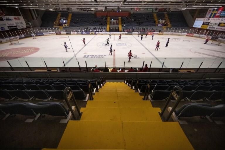 Borås Hockey besökte skadad supporter