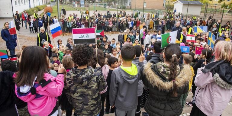 FN-dagen - en nationaldag för Kalmarsundskolans elever