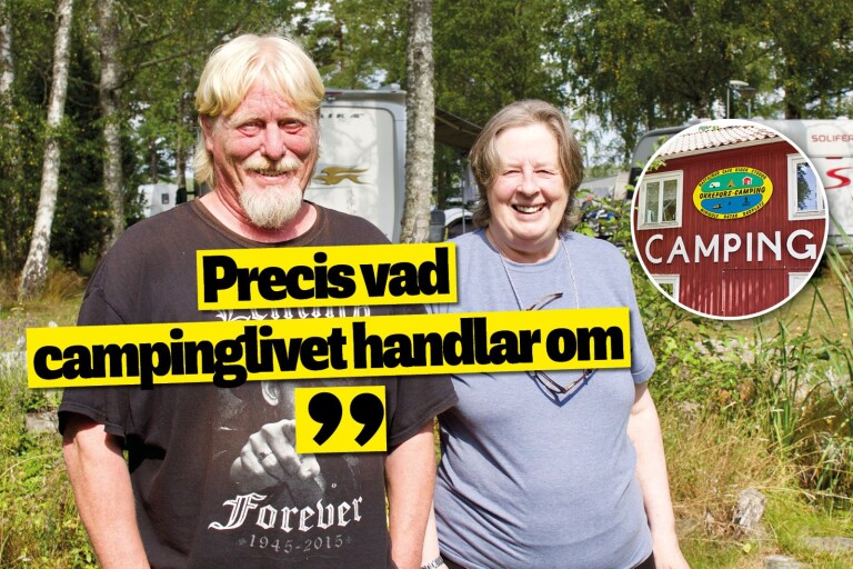 "Lugnet driver campingparet i Orrefors: ""Här umgås man"""