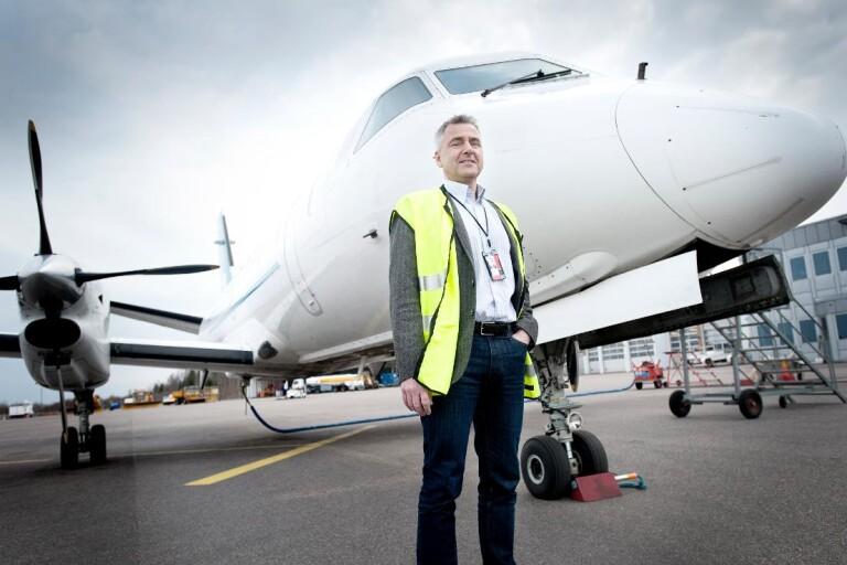 Miljonregn över Småland Airport – får näst mest i Sverige